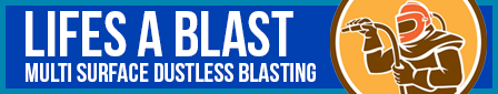 Wigan Sandblasting Dustless Logo